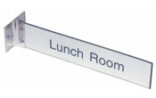 "210CS - 2"" x 10"" Wall Sign with Corridor Mount"