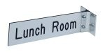 "2"" x 8"" Wall Sign with Corridor Mount"