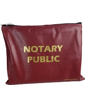 Large Notary Supplies Bag<br>(Burgundy)
