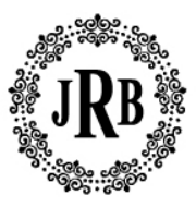 Self-Inking Round Monogram Stamp