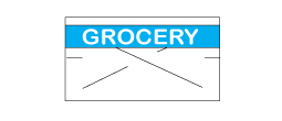 CN-11078 - GX2212 White/Blue Grocery (RC)