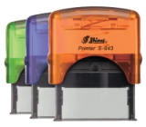 Color Splash Self-Inking Rubber Stamps