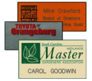 Name Badges, Name Tags, Color Badges, Company Logo Badges, Badges with Pins, Badges with Clips, Bages with Magnets