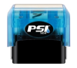 1854B - 1854 PSI Blue Self-Inking Stamp