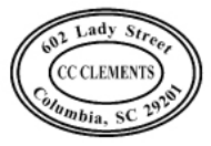 C-510 - Self-Inking Oval Address Stamp